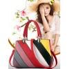 Women Fashion Graffiti Red Shoulder Messenger Handbag image