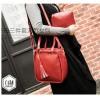 Women Fashion Elegant Three-Piece Red Color Shoulder Handbag image