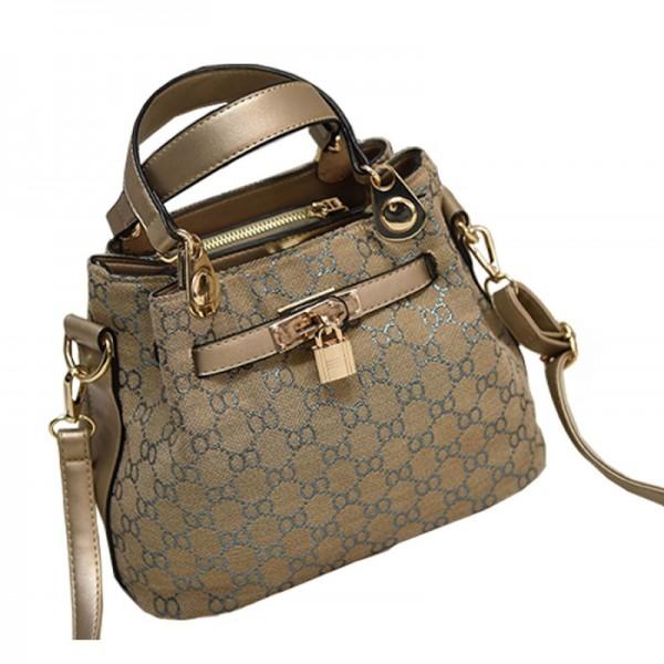 European And American Style Kelly Retro Gold Color Shoulder Handbag image