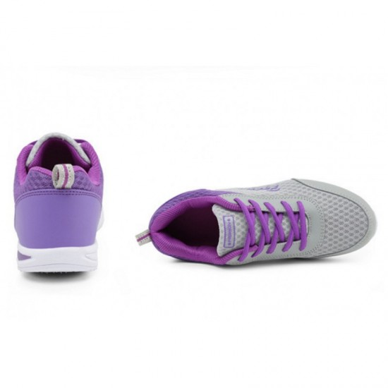 Sports Breathable Joggers For Women-Purple image