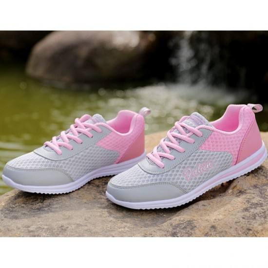 Sports Breathable Joggers For Women-Pink image