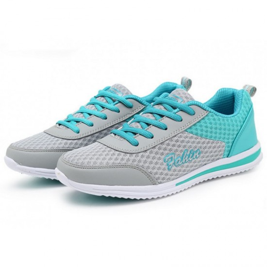 light Blue Color Sports Breathable Joggers For Women image