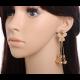 Women Fashion Romantic Beautiful Butterfly Style Earrings image