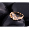 18K Gold Zircon Women Fashion Golden Color Ring image