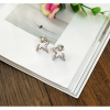 Woman Fashion Silver Star Style Luxury Diamond Earrings image