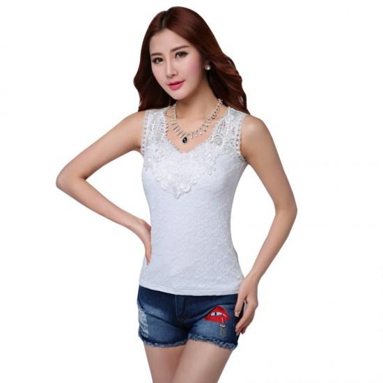 Summer Elegant Short Sleeved Pleated Slim Party Dress-White image