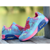 Blue Color Breathable Joggers Walk Sports Shoes For Women image