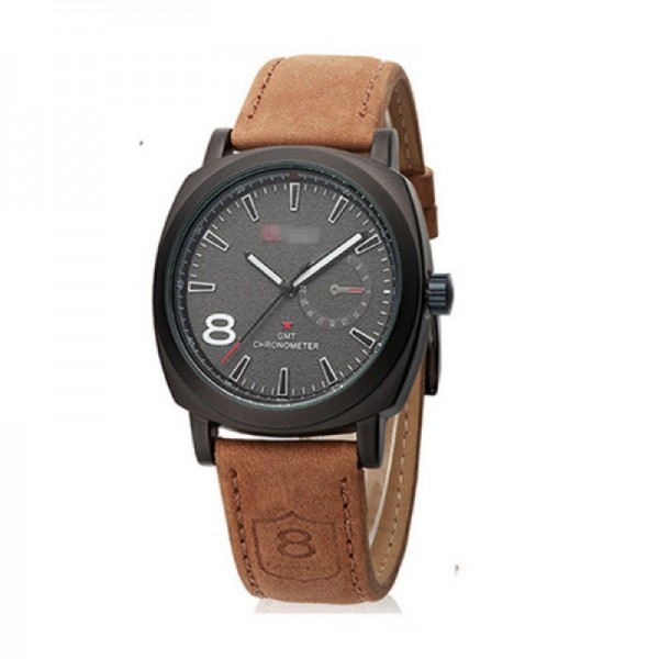 Leisure Fashion Military Table Men Style Black Color Sports Watch image