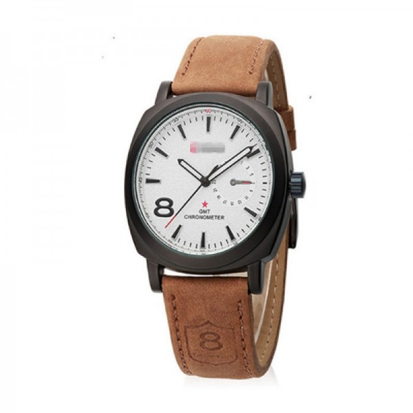 Curren Handling Carlin Dial Color Men Style White Watch image