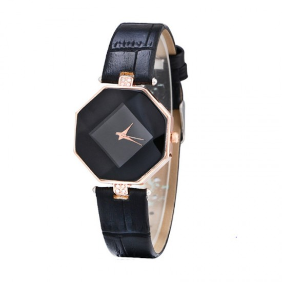 Teen Girls Fashion Temperament Black Color Watch image