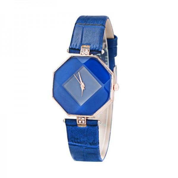Teen Girls Fashion Temperament Blue Color Watch image