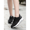 Women Air Cushion Running Black Jogging Sports Shoes image