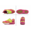 Women Air Cushion Running Yellow Jogging Sports Shoes image