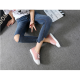 Flat Bottom Canvas Lovely Sneakers Shoes-Pink image