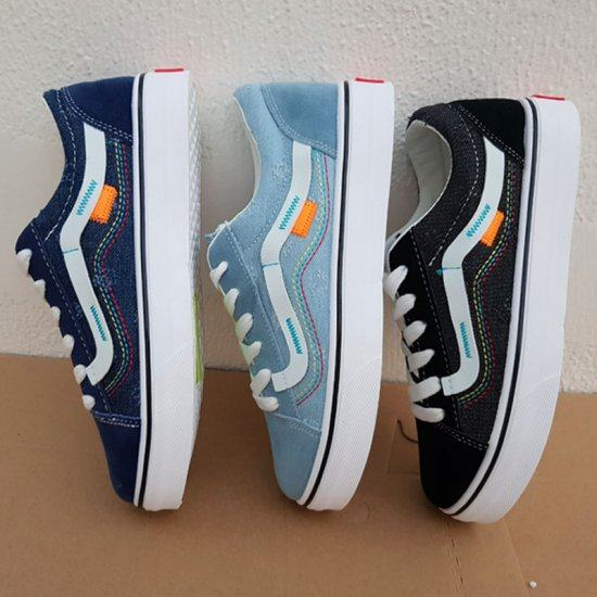 Famous new female casual Canvas Shoes-Grey image