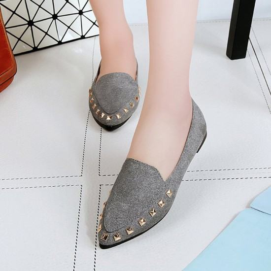 Buy Latest Fashion Suede Casual Pointed