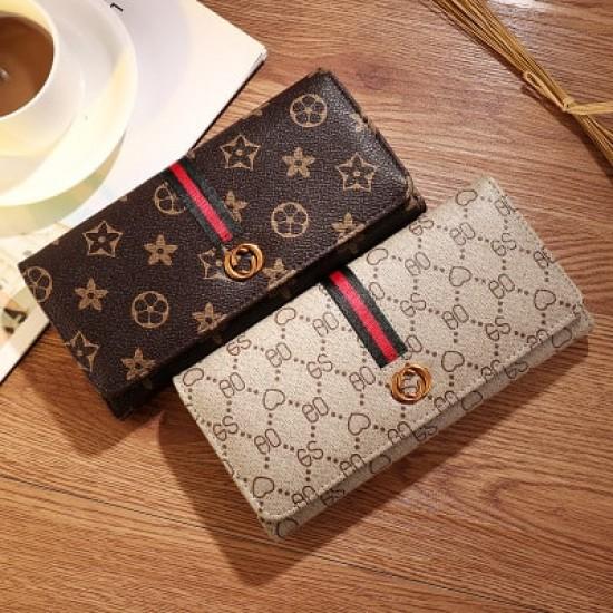 Mini Designers Texture Handy Women Wallet-Grey image