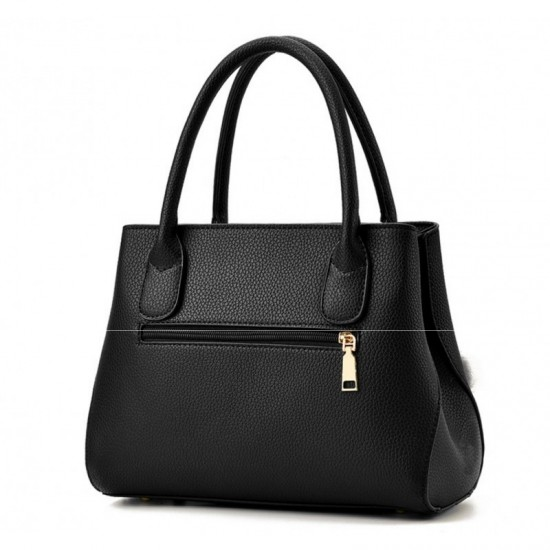 Leisure Shoulder Messenger Bag For Women-Black image