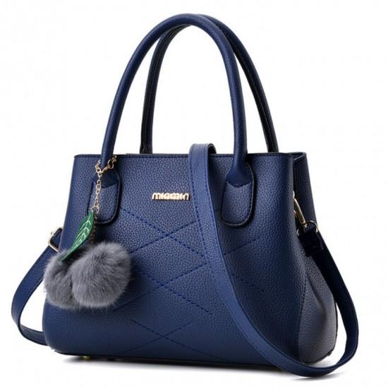 Leisure Shoulder Messenger Bag For Women-Blue image