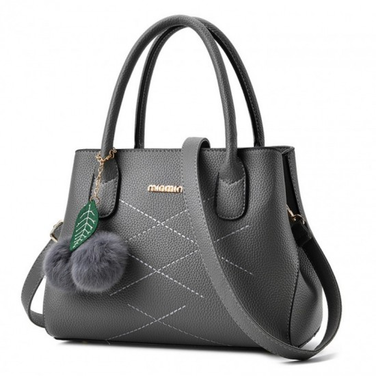 Leisure Shoulder Messenger Bag For Women-Dark Grey image