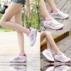Women Breathable White Light Weight Soft Running Sports Shoes image