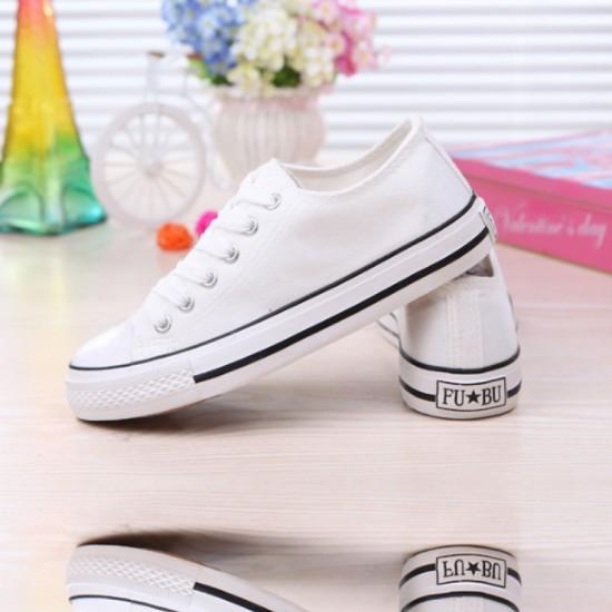 Black Lines Comfty Canvas Shoes