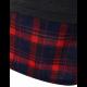 Women Newest Fashion Plaid Cotton Long Sleeves Hoodie-Black image