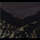 New Look Of Slim Sexy Round Neck Sleeveless High Elegant Stripe Cut Women Maxi Dress-Black image