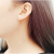 Gold Color Alloy Korean Fashion Waves Earrings For Women E-05G