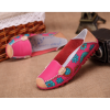 Pink Color Comfortable Soft Mom Loafer Flats For Women SH-37PK image
