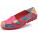 Comfortable Soft Mom Loafer Flats For Women-Pink image