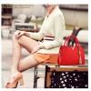 RedColor European Fashion Crocodile Pattern Ladies Handbag HB-17RD image