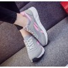 Grey With Pink Shade Sports Joggers For Women SH-23GR image