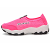 Pink Color Mesh Breathable Sports Shoes For Women SH-47PK image